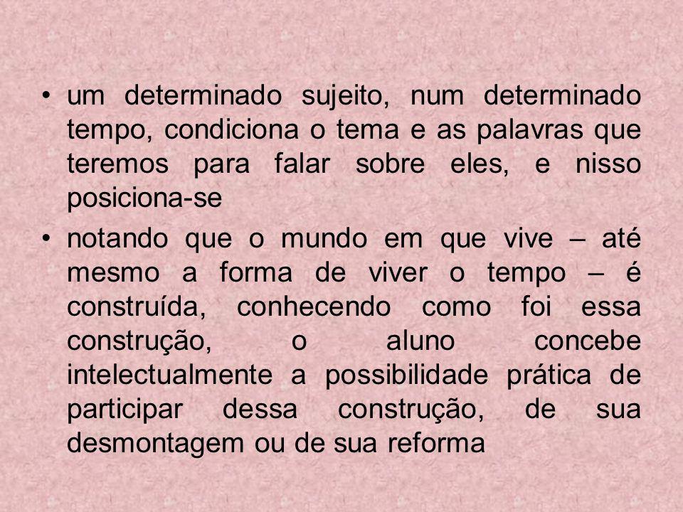 As transformações do ensino da História no Brasil RELAÇÃO PROFESSOR x ALUNO Ensino de estudos sociais Aluno como centro do ensino.