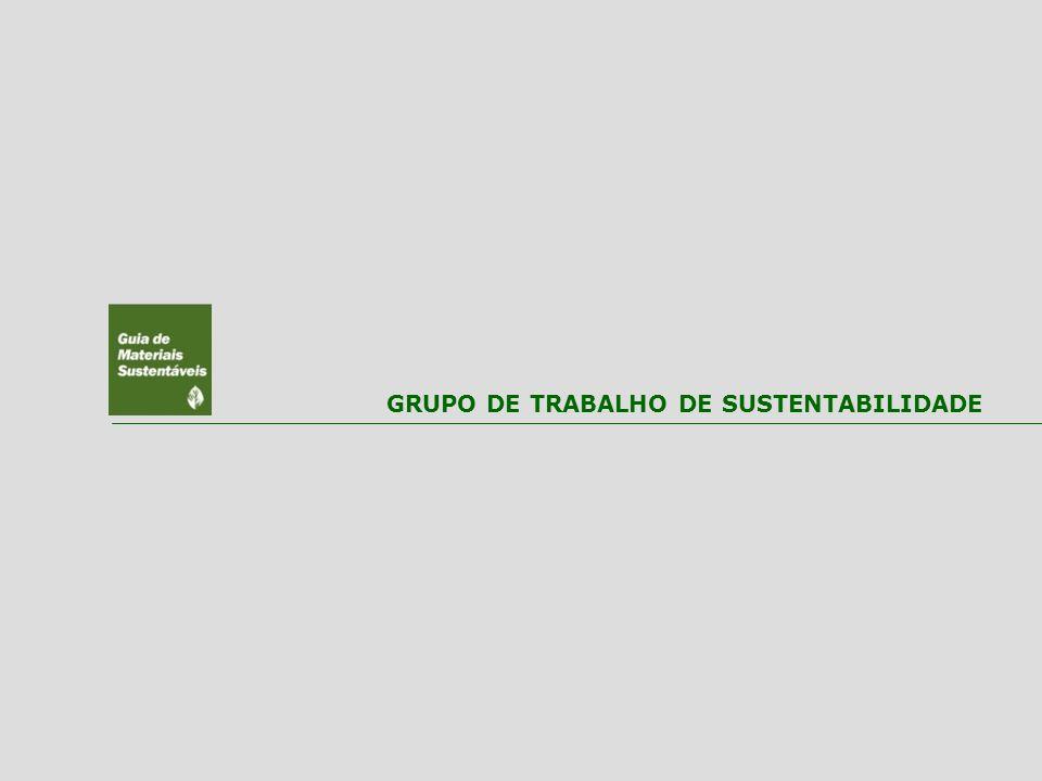 GRUPO DE TRABALHO DE SUSTENTABILIDADE