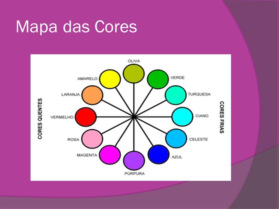 Mapa das Cores