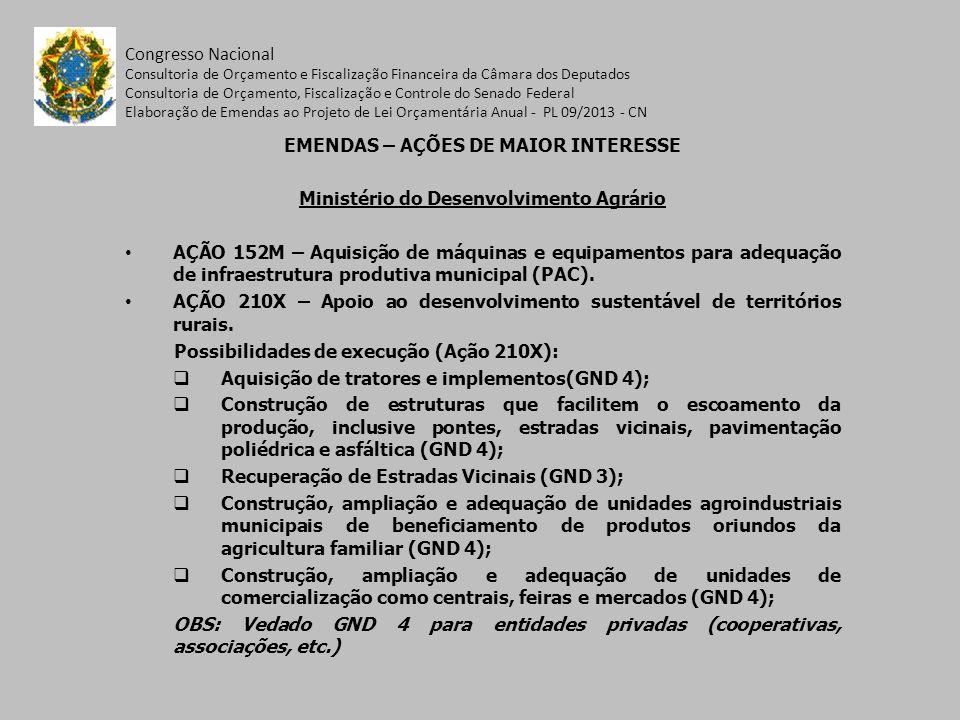Congresso Nacional Consultoria de Orçamento e Fiscalização Financeira da Câmara dos Deputados Consultoria de Orçamento, Fiscalização e Controle do Sen