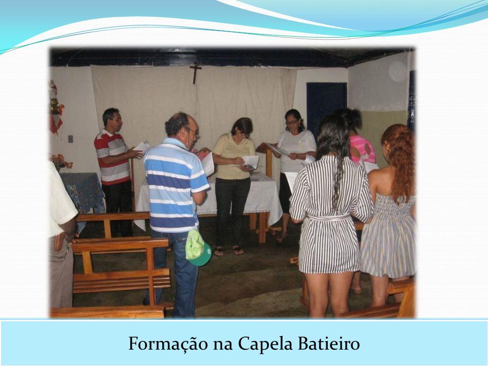 Formação na Capela Batieiro