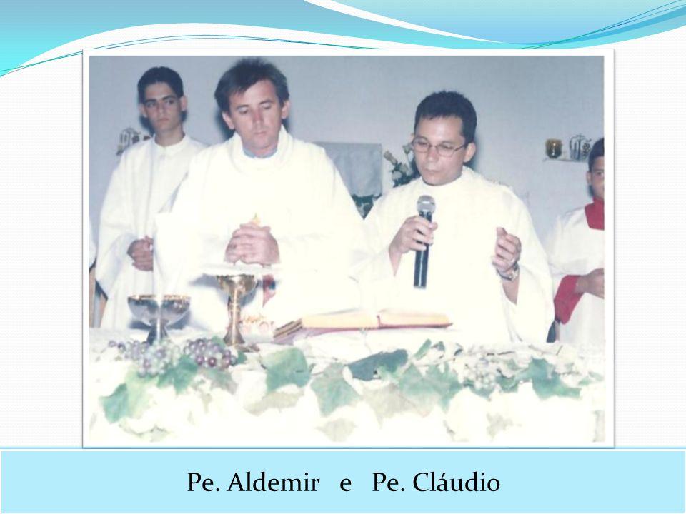 Pe. Aldemir e Pe. Cláudio