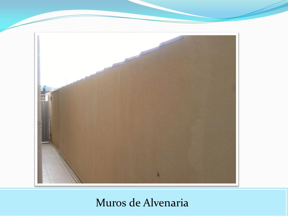 Muros de Alvenaria