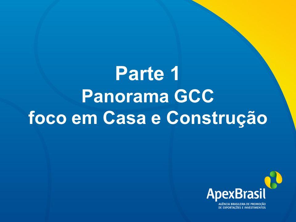 Título da apresentação Parte 1 Panorama GCC foco em Casa e Construção