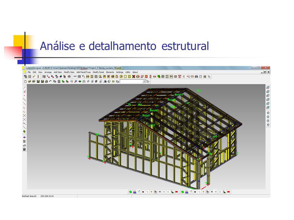 Análise e detalhamento estrutural