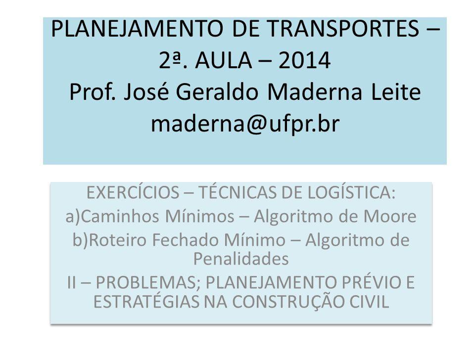 A)APRESENTAÇÃO UFPR – 1968 – Eng.Civil e 1970 - Prof.