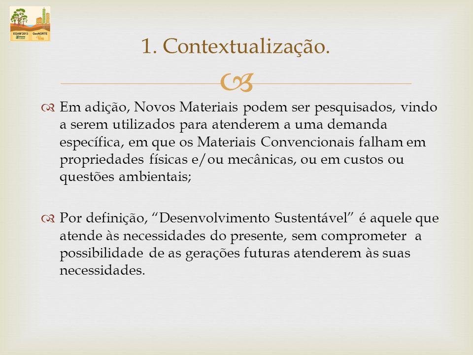 Número de fábricas de cimento no Brasil e produção e consumo regional; 2.