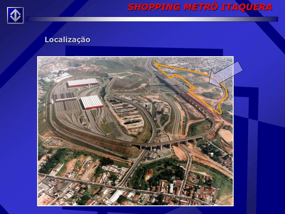 Contratada - COMPANHIA STª CRUZ Inaugurado - 2001 Características: » Área Construída: 67 mil m² » Estacionamento:1.044 vagas » Área Bruta Locável: 16