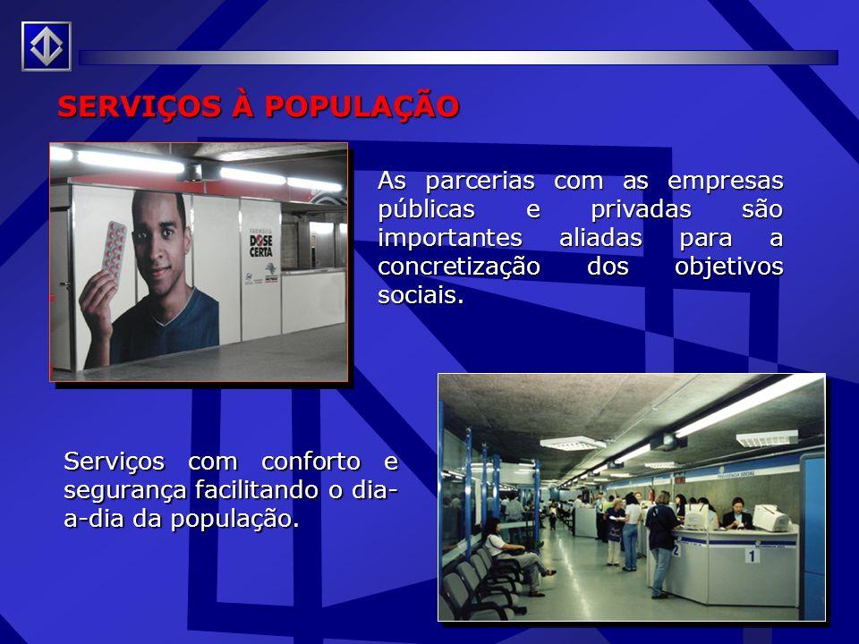Telefonia Móvel Instalação de Sistema de Transmissão de Radiofreqüência no Metrô - STRF Benefícios: :: Uso de celulares, no interior do sistema metrov