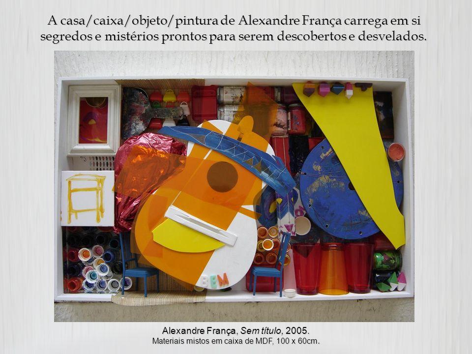 Alexandre França: memórias, segredos e sonoridades dentro e fora de uma caixa. Autoras: Eliane de Fátima Vieira Tinoco Teresa Cristina Melo da Silveir