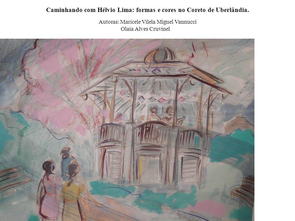 Aninha Duarte, Nas Oliveiras, 2004. Aquarela, 30 x 35 cm. [...] a pintura continua sendo o baluarte da minha pesquisa, pois através dela integralizo a