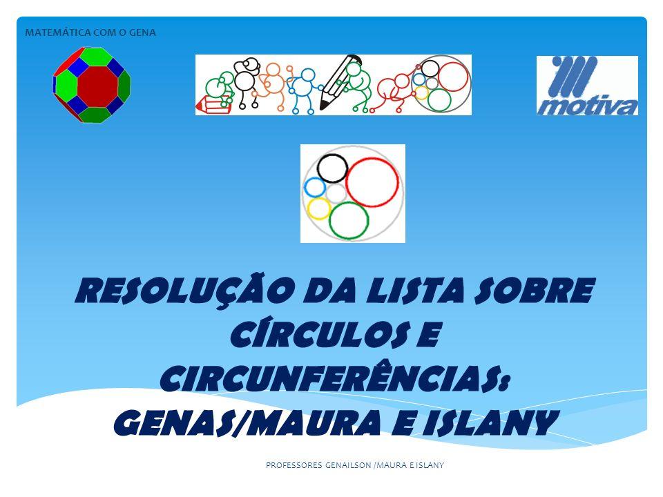 PROFESSORES GENAILSON /MAURA E ISLANY RESOLUÇÃO x = 6-2,5-1,5 X=2cm