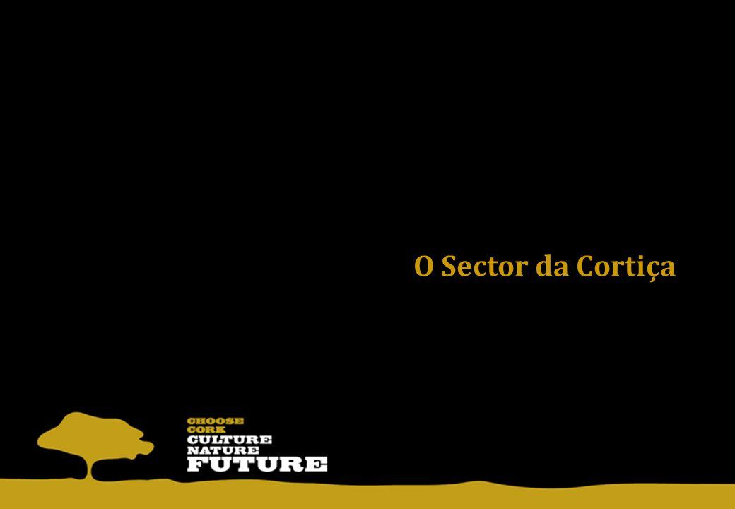 Portugal é o líder mundial com 62% do total mundial das exportações de cortiça (805,3 milhões de Euros em 2011 e 717,6 milhões de Euros até Out.