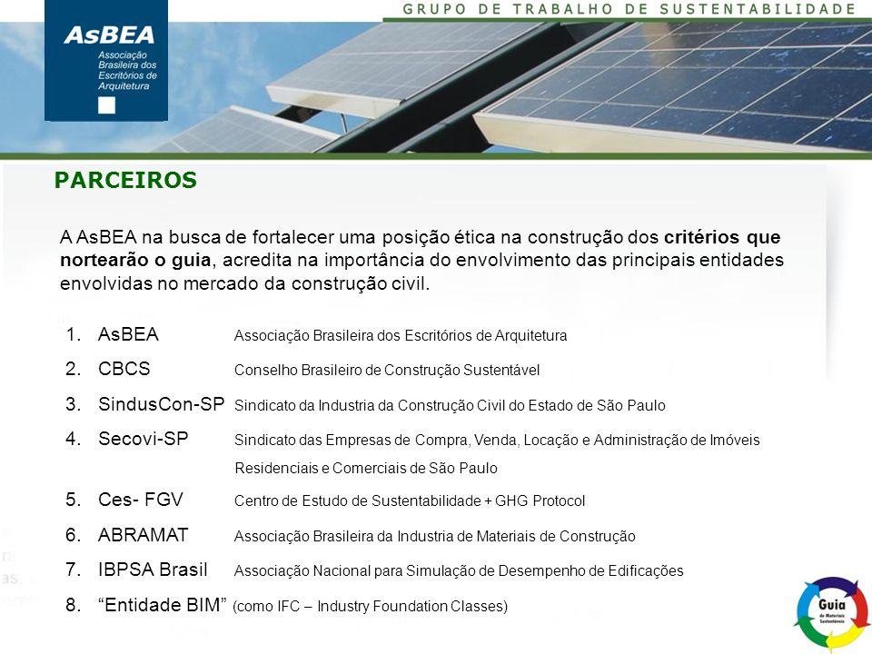 Entidade BIM Dados a serem incorporados na ficha para permitir uma fácil associação com ferramentas BIM APOIO Green Building Council Brasil Secretaria de Verde e Meio Ambiente Secretaria da Habitação CETESB E outros a serem prospectados pelos parceiros PAPEL DOS PARCEIROS