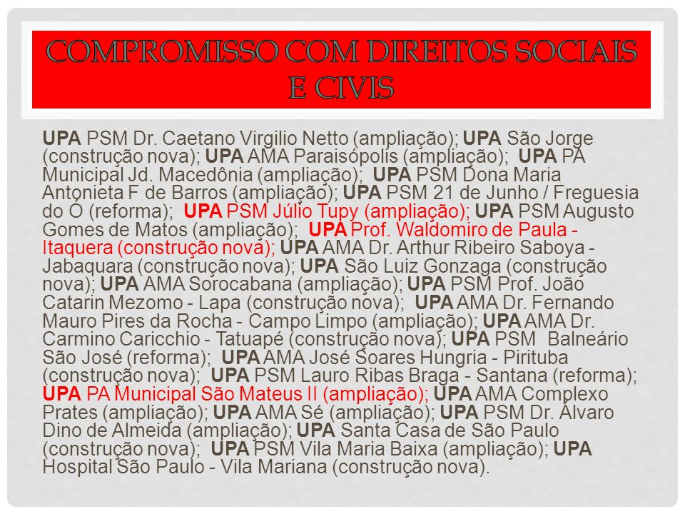 UPA PSM Dr.