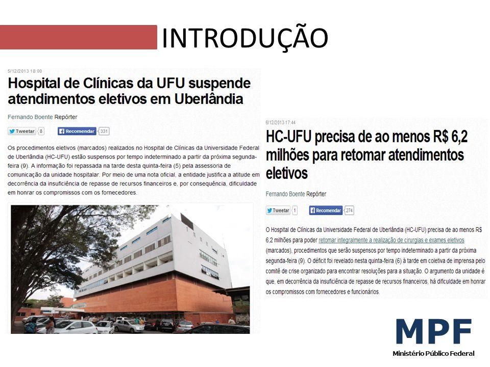 MPF Ministério Público Federal INTRODUÇÃO