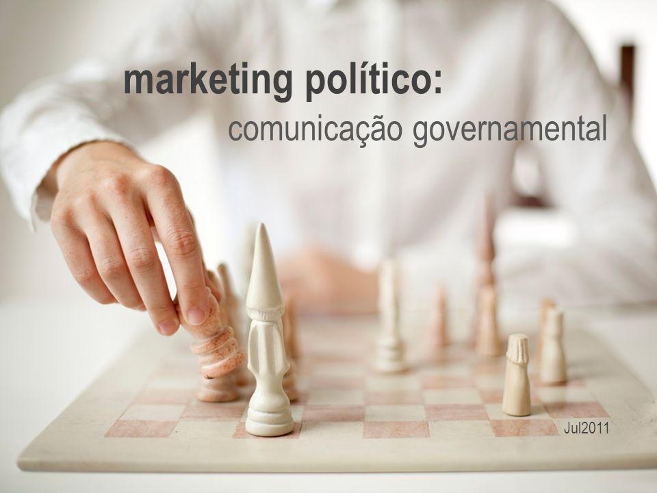 marketing político: comunicação governamental Jul2011