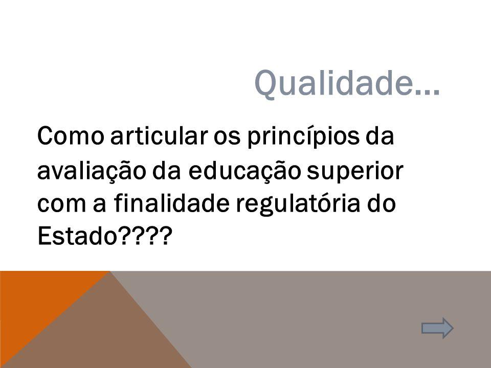 RECONHECIMENTO DE CURSOS PRESENCIAIS E EAD