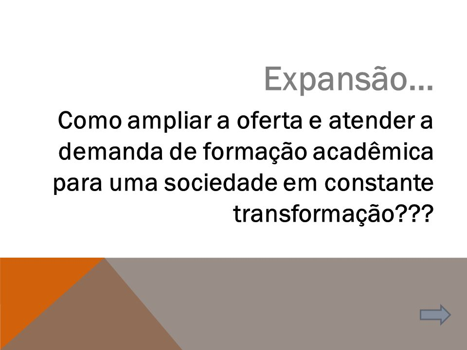 RENOVAÇÃO DE RECONHECIMENTO DE CURSOS PRESENCIAIS E EAD