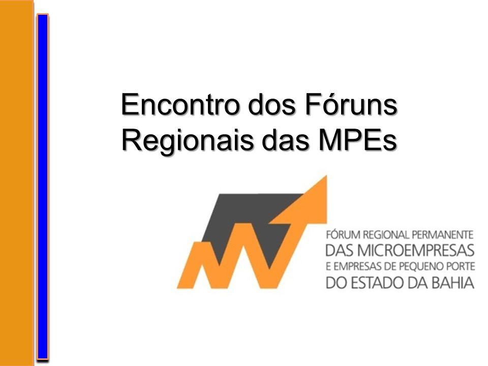 Fórum Permanente Regional das MPEs Bahia Decreto nº.