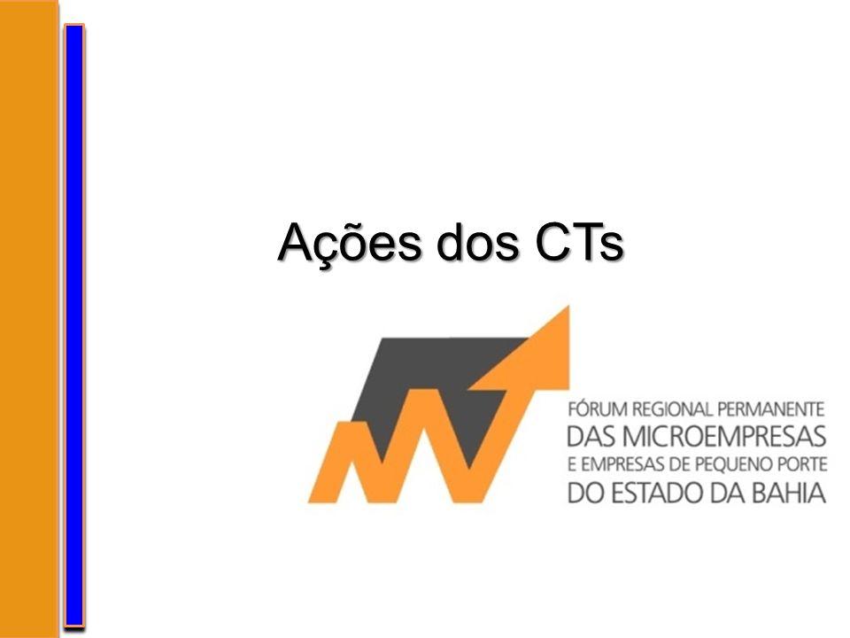 Ações dos CTs