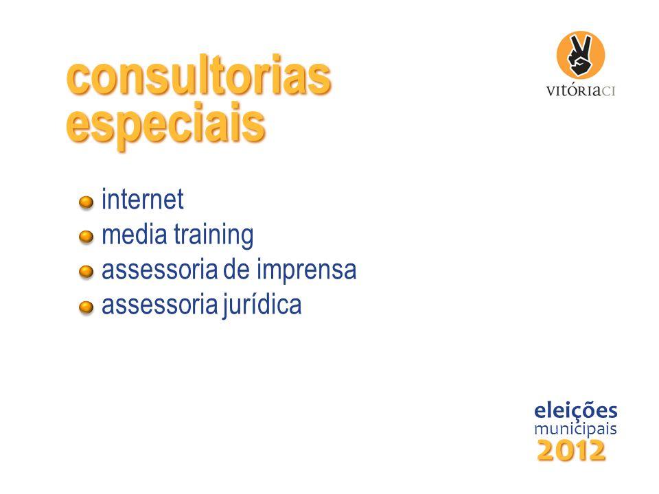 consultorias eleições municipais 2012 especiais internet media training assessoria de imprensa assessoria jurídica
