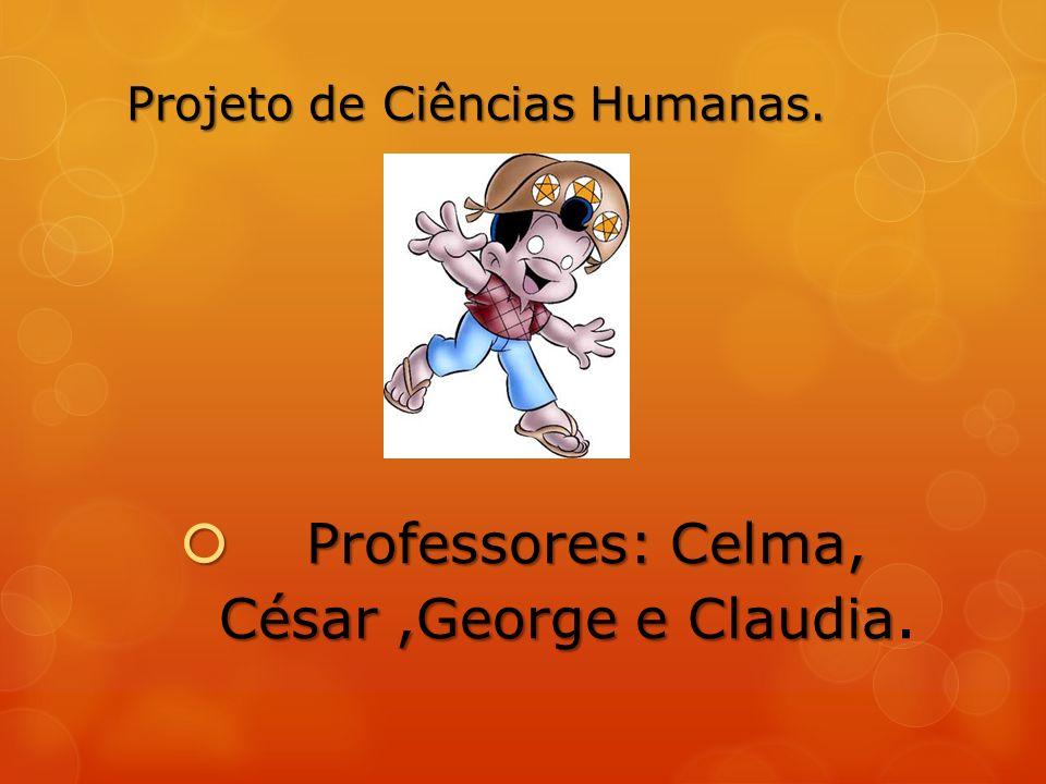 Projeto de Ciências Humanas.