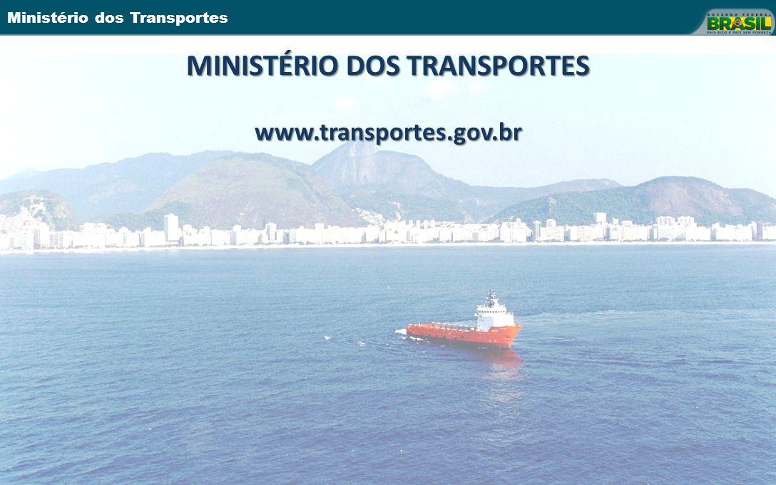 Ministério dos Transportes MINISTÉRIO DOS TRANSPORTES www.transportes.gov.br