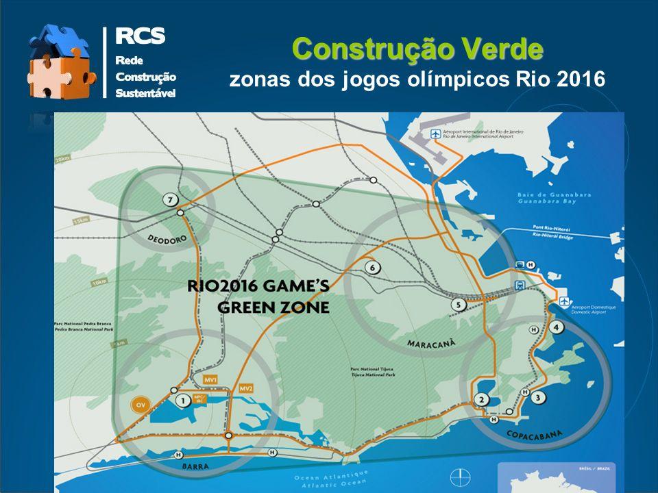 Construção Verde Construção Verde zonas dos jogos olímpicos Rio 2016