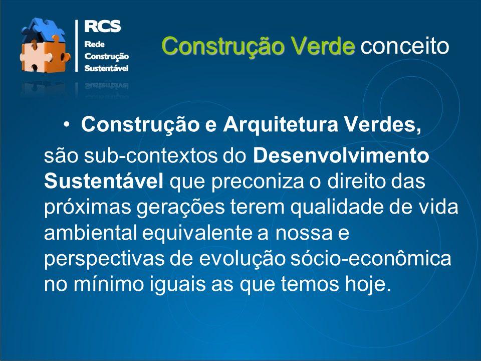 Construção Verde Construção Verde componentes do caderno de encargos 01.