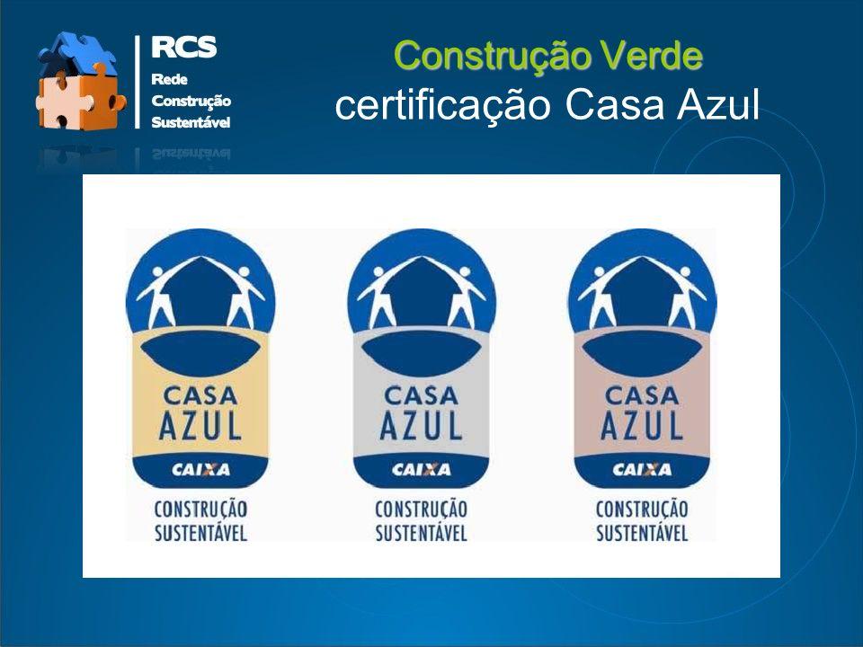 Construção Verde Construção Verde certificação Casa Azul