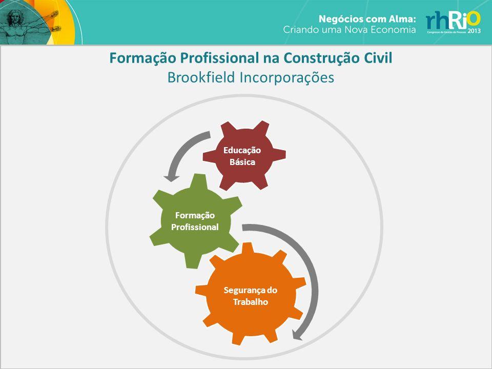 Formação Profissional Segurança do Trabalho Educação Básica Formação Profissional na Construção Civil Brookfield Incorporações