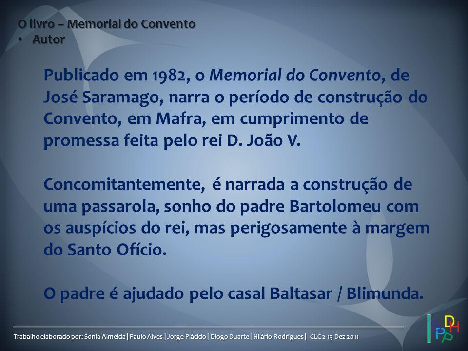 Trabalho elaborado por: Sónia Almeida | Paulo Alves | Jorge Plácido | Diogo Duarte | Hilário Rodrigues | CLC 2 13 Dez 2011 Publicado em 1982, o Memori