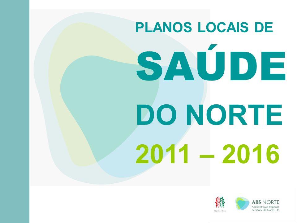 Plano Local de Saúde: QUE NECESSIDADES DE SAÚDE DA POPULAÇÃO?...