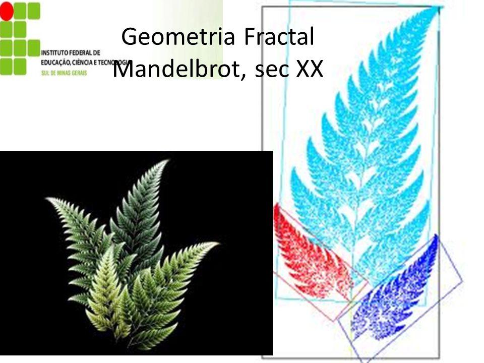 Geometria Fractal Mandelbrot, sec XX