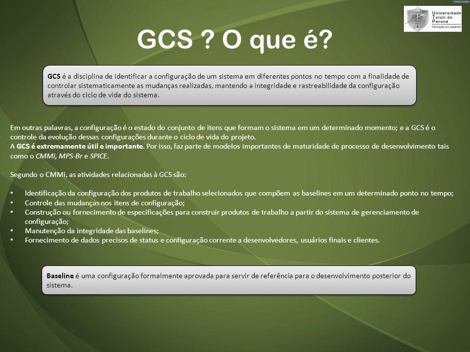 GCS .O que é.