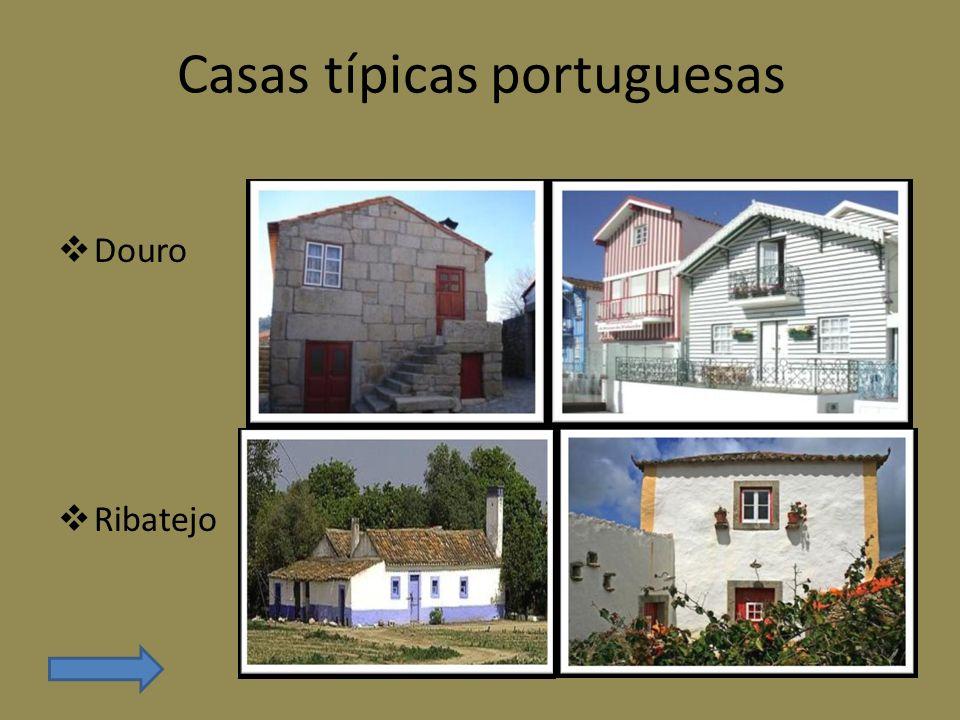 Casas típicas portuguesas Alentejo Madeira
