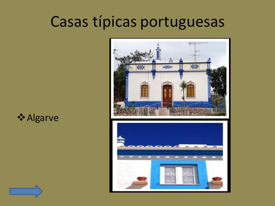 Casas típicas portuguesas Algarve