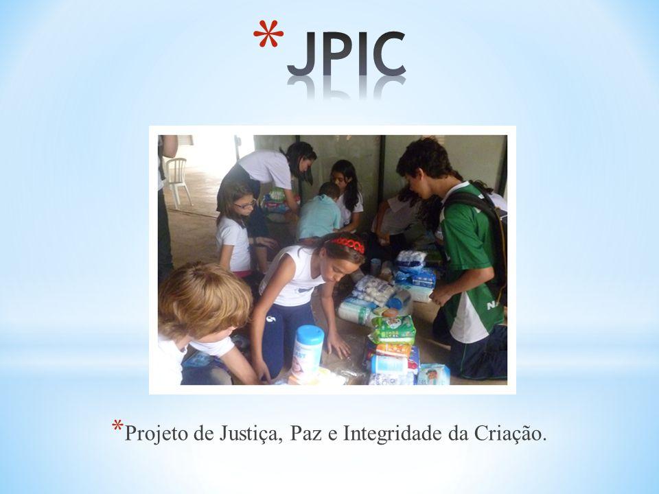 * Projeto de Justiça, Paz e Integridade da Criação.