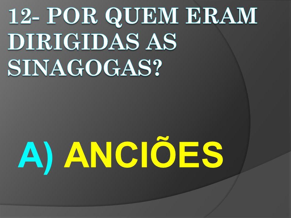 A) ANCIÕES