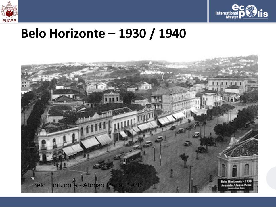Belo Horizonte - Afonso Pena, 1930 Belo Horizonte – 1930 / 1940