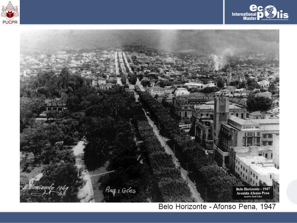 Belo Horizonte - Afonso Pena, 1930 Belo Horizonte - Afonso Pena, 1947