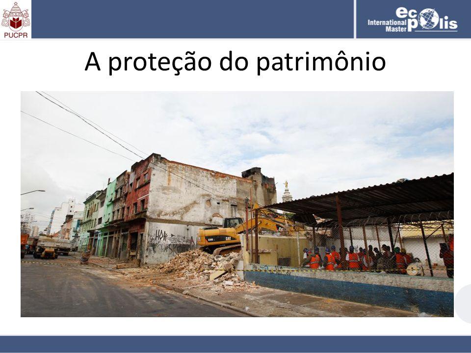 A proteção do patrimônio