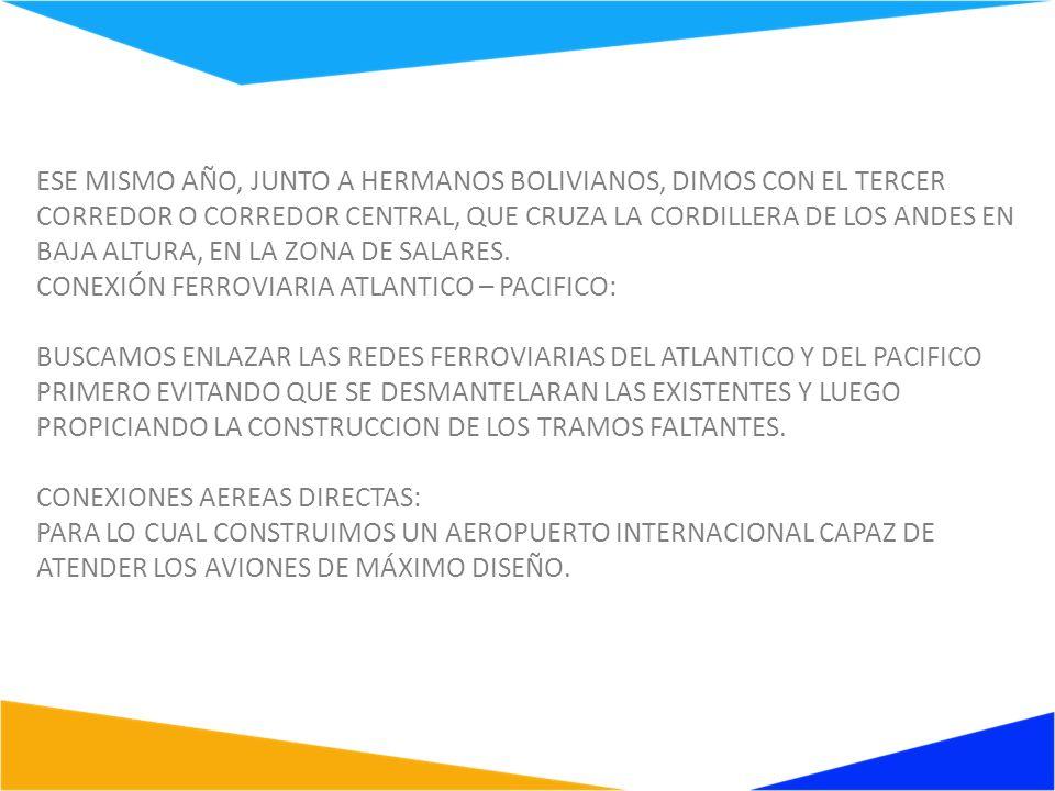 NESSE MESMO ANO JUNTO AOS IRMÃOS BOLIVIANOS NOS DEPARAMOS COM O TERCEIRO CORREDOR CENTRAL, QUE ATRAVESSA A CORDILHEIRA DOS ANDES EM LOCAL DE BAIXA ALTITUDE, NA REGIÃO DE SALARES.