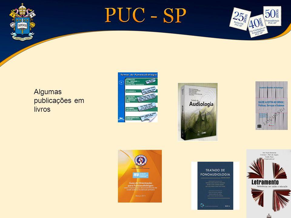 Algumas publicações em livros
