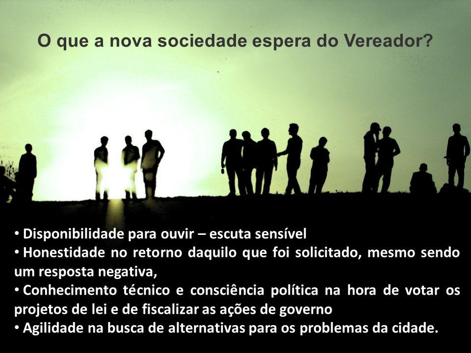 CIDADE PARA AS PESSOAS Considerando o atual momento político do país, qual será realmente o papel dos legisladores .