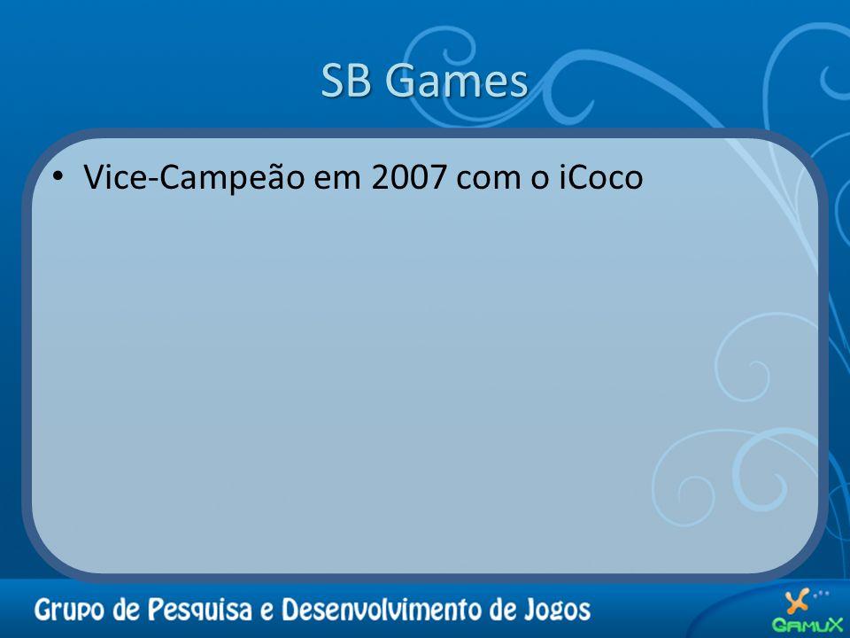 SB Games Vice-Campeão em 2007 com o iCoco