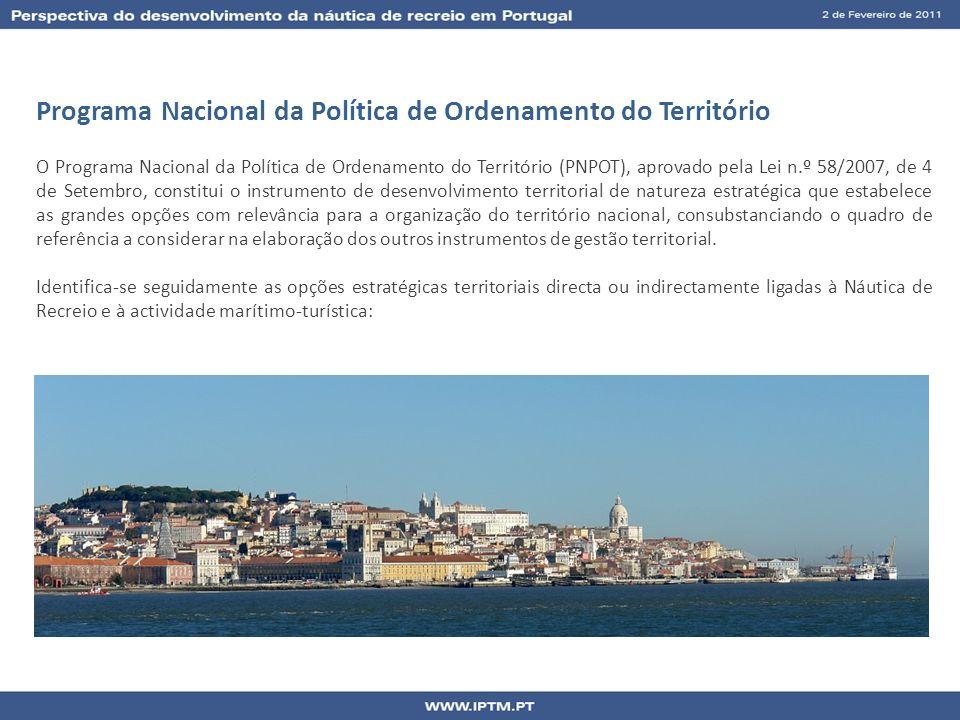 Programa Nacional da Política de Ordenamento do Território O Programa Nacional da Política de Ordenamento do Território (PNPOT), aprovado pela Lei n.º