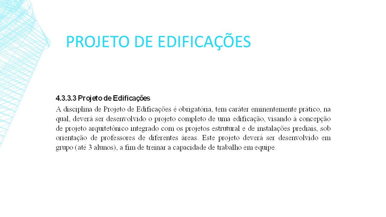 PROJETO DE EDIFICAÇÕES