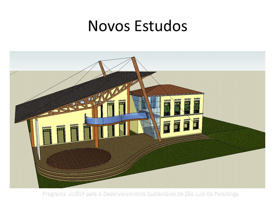 Novos Estudos Programa UNESP para o Desenvolvimento Sustentável de São Luiz do Paraitinga